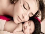 Anne ve Uyuyan Bebeği Yapbozu Oyna