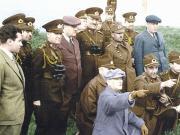 Atatürk İnceleme Yaparken Yapbozu Oyna