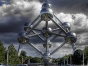 Atomium Brussels-Belçika Yapbozu Oyna