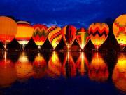Balluminaria Sıcak Hava Balon Festivali Yapbozu Oyna