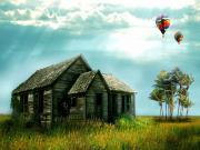 Balonlar ve Kulübe Yapbozu Oyna