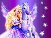 Barbie ve Atı Yapbozu Oyna