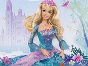 Barbie ve Mavi Elbisesi Oyna