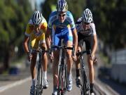 Bisiklet Yarışındaki Kıyasıya Çekişme Yapbozu Oyna