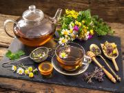 Bitki Çayı ile Rahatla Yapbozu Oyna