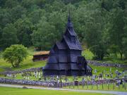 Borgund Stave Kilisesi Yapbozu Oyna