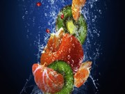 Canlı Renklerle Meyve Yapbozu