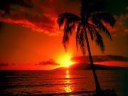 Dağın Arkasında Kalan Güneş Yapbozu