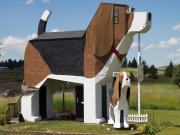 Dog Bark Park Inn-Cottonwood-Idaho Yapbozu Oyna