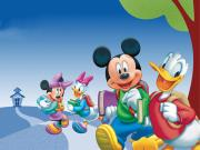 Donald Duck ve Arkadaşları Yapbozu Oyna