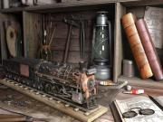 Eski Lokomotif Yapbozu Oyna
