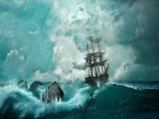 Fırtınadaki Yelkenli Yapbozu
