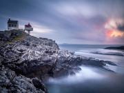 Fjloy Deniz Feneri-Rogaland Adaları-Norveç Yapbozu Oyna