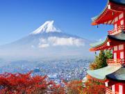 Fuji Yanardağı-Japonya Yapbozu