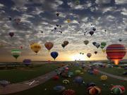 Gökyüzü Balonları Yapbozu Oyna