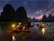 Göldeki Balıkçılar Yapbozu Oyna