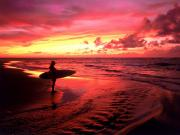 Gün Batımında Surf Yapbozu