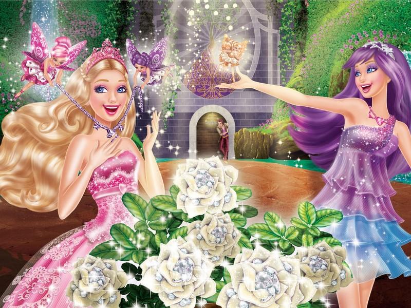 Harika Kız Barbie Yapbozu Oyna