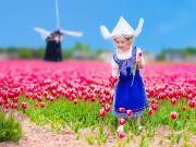 Hollandalı Küçük Kız Yapbozu Oyna