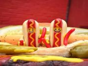 Hot Dog Legolar Yapbozu Oyna