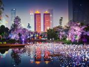 Işıl Işıl Şehir Manzarası Yapbozu Oyna
