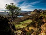 İskoçya'dan Güzel Bir Dağ Manzarası