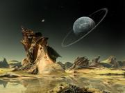Issız Bir Gezegen Yapbozu Oyna
