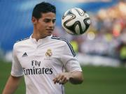 James Rodriguez-Real Madrid Yapbozu Oyna