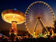 Jupiter Ferris Wheel Fuarı Yapbozu Oyna