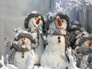 Kar Topu Oynamaya Hazırız Yapbozu Oyna