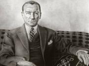 Karakalem Atatürk Resmi Yapbozu Oyna