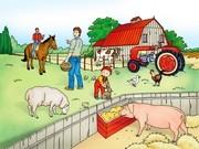 Kayu Çiftlikte Yapbozu Oyna