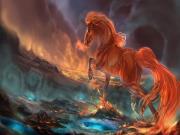 Kırmızı At Yapbozu Oyna