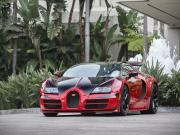 Kırmızı Siyah Bugatti Veyron Yapbozu Oyna