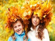 Kurumuş Yapraklardan Şapka Yapbozu Oyna