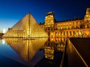 Louvre Müzesi-Paris Yapbozu Oyna