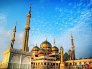 Masjid Kristal-Malezya Yapbozu Oyna