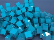 Mavi Küpler Yapboz Oyna