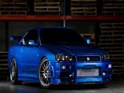 Mavi Nissan Skyline Yapbozu Oyna