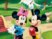 Mickey ve Mini Yapbozu Oyna