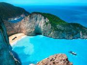 Navagio Plajı-Zakynthos Yapbozu Oyna