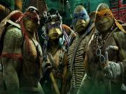 Ninja Kaplumbağalar-Gölgelerin İçinden Yapbozu Oyna