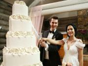 No:309-Onur ve Lale'nin Düğün Pastası Yapbozu Oyna