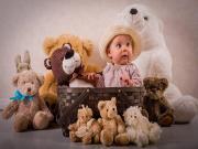 Oyuncak Ayılar ve Bebek Yapbozu Oyna