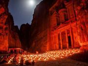 Petra-Ürdün Yapbozu Oyna