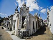 Recoleta Mezarlığı-Buenos Aires Yapbozu