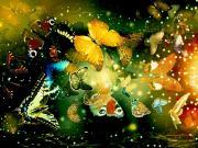 Rengarenk Kelebekler Yapbozu