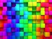 Renkli Kutular Yapboz Oyna