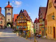 Rothenburg-Almanya Yapbozu Oyna