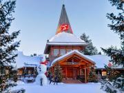 Santa Clous Köyü-Rovaniemi-Laponya Yapbozu Oyna